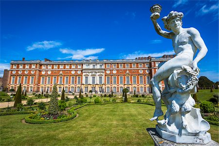 Hampton Court Palace, London, England, United Kingdom Stock Photo - Rights-Managed, Code: 700-08145966