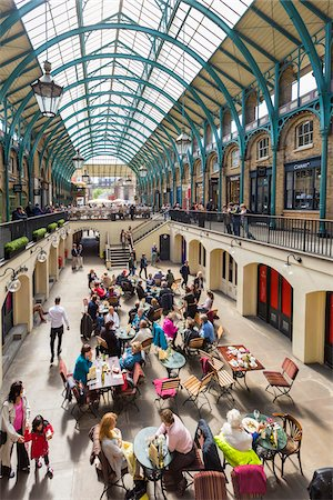 people on mall - Covent Garden, London, England, United Kingdom Stock Photo - Rights-Managed, Code: 700-08145988