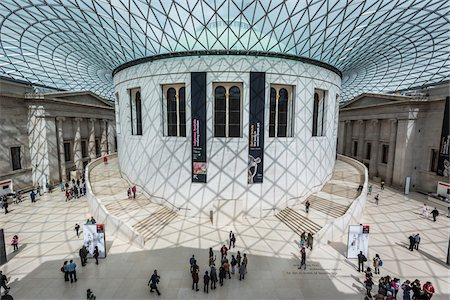 Queen Elizabeth II Great Court, British Museum, Bloomsbury, London, England, United Kingdom Stock Photo - Rights-Managed, Code: 700-08146014