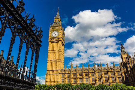 Big Ben, Westminster Palace and Houses of Parliament, London, England, United Kingdom Fotografie stock - Rights-Managed, Codice: 700-08146120