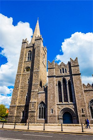 St Patrick's Cathedral, Dublin, Leinster, Ireland Stock Photo - Rights-Managed, Code: 700-08146276