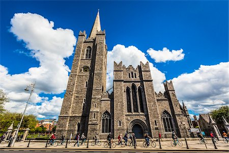 St Patrick's Cathedral, Dublin, Leinster, Ireland Stock Photo - Rights-Managed, Code: 700-08146277