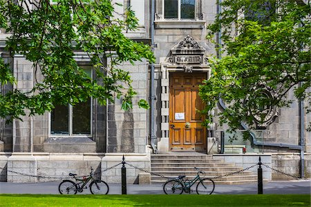 Trinity College, Dublin, Leinster, Ireland Stock Photo - Rights-Managed, Code: 700-08146299