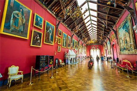 The Picture Gallery Wing, Kilkenny Castle, Kilkenny, Kilkenny County, Ireland Stock Photo - Rights-Managed, Code: 700-08146324