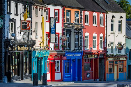 quaint - Buildings and street scene, Kilkenny, County Kilkenny, Ireland Stock Photo - Rights-Managed, Code: 700-08146338