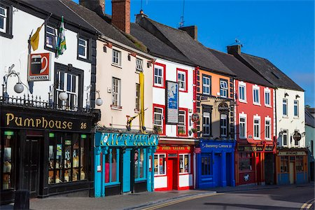 Buildings, pubs, restaurants and stores, Kilkenny, County Kilkenny, Ireland Stock Photo - Rights-Managed, Code: 700-08146339