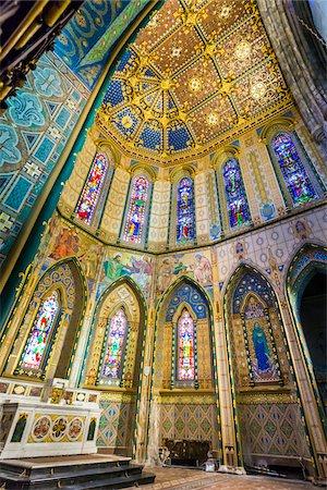 Interior of St Mary's Cathedral, Kilkenny, County Kilkenny, Ireland Stock Photo - Rights-Managed, Code: 700-08146331