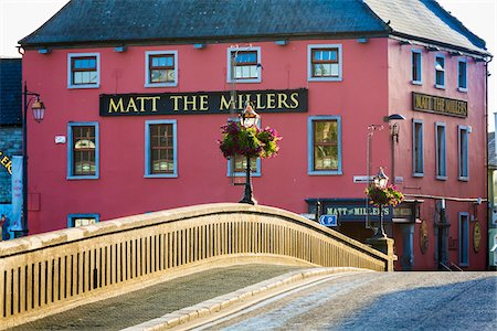 Exterior of Restaurant and Pub, Kilkenny, County Kilkenny, Ireland Stock Photo - Rights-Managed, Code: 700-08146333