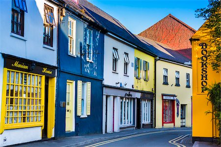 quaint - Buildings and street scene, Kinsale, County Cork, Ireland Stock Photo - Rights-Managed, Code: 700-08146353