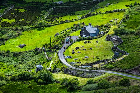 Scenic view of Caherdaniel, along the Ring of Kerry, County Kerry, Ireland Stock Photo - Rights-Managed, Code: 700-08146383