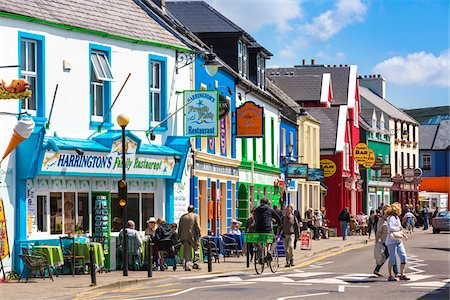 quaint - Quay Street, Dingle, Dingle Peninsula, County Kerry, Ireland Stock Photo - Rights-Managed, Code: 700-08146439