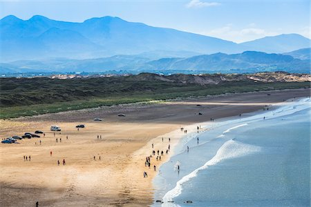 The Inch Strand beach, Dingle, County Kerry, Ireland Stock Photo - Rights-Managed, Code: 700-08146431