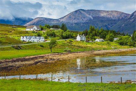 Scenic near Luib, Isle of Skye, Scotland, United Kingdom Stock Photo - Rights-Managed, Code: 700-08167252