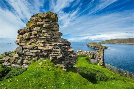 Duntulm Castle, Duntulm, Trotternish, Isle of Skye, Scotland, United Kingdom Stock Photo - Rights-Managed, Code: 700-08167285