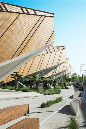 south european - Slovenia Pavilion, designed by SoNo arhitekti at Milan Expo 2015, Italy Stock Photo - Rights-Managed, Code: 700-08167347