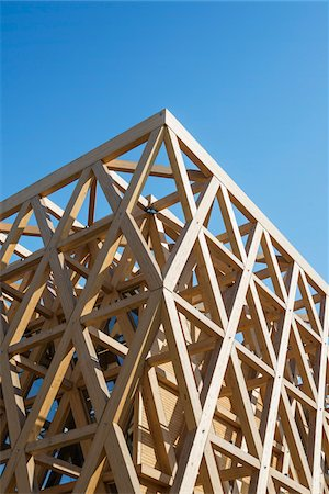 structure - Chile Pavilion, designed by Cristian Undurraga at Milan expo 2015, Italy Photographie de stock - Rights-Managed, Code: 700-08167349