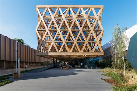 Chile Pavilion, designed by Cristian Undurraga at Milan expo 2015, Italy Stock Photo - Rights-Managed, Code: 700-08167351