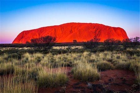 Uluru (Ayers Rock), Uluru-Kata Tjuta National Park, Northern Territory, Australia Stock Photo - Rights-Managed, Code: 700-08200977