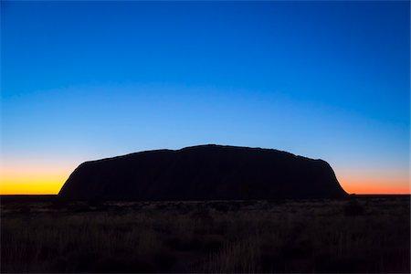 Uluru (Ayers Rock), Uluru-Kata Tjuta National Park, Northern Territory, Australia Stock Photo - Rights-Managed, Code: 700-08200978