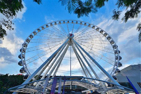 queensland - Wheel of Brisbane, South Bank Parklands, Brisbane, Queensland, Australia Stock Photo - Rights-Managed, Code: 700-08274339