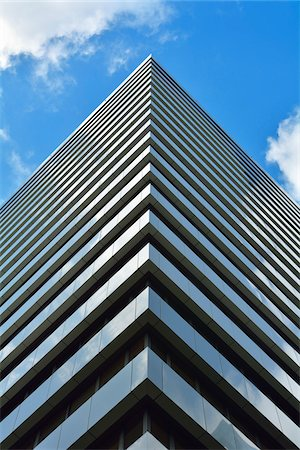 repeating - Skyscraper Facade, Brisbane, Queensland, Australia Stock Photo - Rights-Managed, Code: 700-08274332