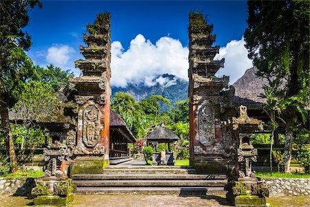 Pura Luhur Batukaru temple, Gunung Batukaru, Bali, Indonesia Stock Photo - Rights-Managed, Code: 700-08385833