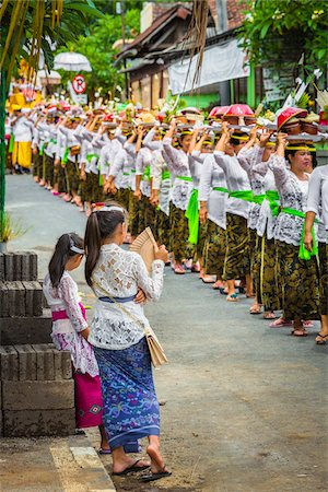 Procession at a cremation ceremony for a high priest in Ubud, Bali, Indonesia Stock Photo - Rights-Managed, Code: 700-08385857