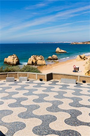 portugal - Viewpoint at Praia da Rocha, Algarve, Portugal Stock Photo - Rights-Managed, Code: 700-08416714