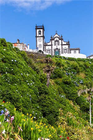portugal - Church of Nossa Senhora da Graca, Porto Formoso, Sao Miguel Island, Azores, Portugal Stock Photo - Rights-Managed, Code: 700-08540179