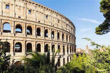 Close-up of the Colosseum, UNESCO World Heritage Site, Rome, Italy Stock Photo - Rights-Managed, Code: 700-08576127