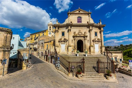 Holy Souls in Purgatory Church (Chiesa Anime Sante del Purgatorio) in Ragusa in Sicily, Italy Stock Photo - Rights-Managed, Code: 700-08723117