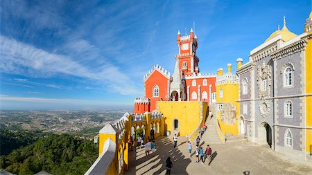 portuguese (places and things) - Pena National Palace, Sintra Municipality, Lisboa, Portugal Stock Photo - Rights-Managed, Code: 700-08865189