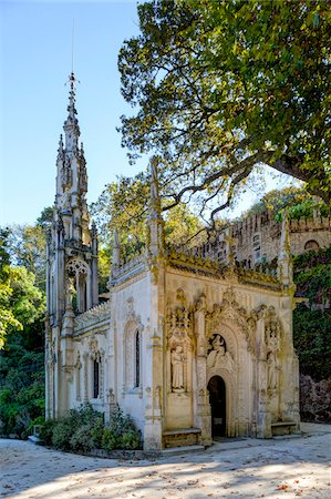portuguese (places and things) - Chapel at Quinta da Regaleira, Sintra, Lisboa, Portugal Stock Photo - Rights-Managed, Code: 700-08865191
