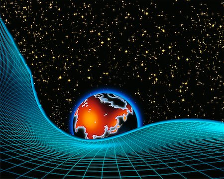 Globe and Grid with Starry Sky Asia Stock Photo - Rights-Managed, Code: 700-00014558