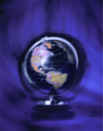 Spinning Globe North and South America Stock Photo - Rights-Managed, Code: 700-00016985