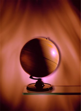 Spinning Globe Stock Photo - Rights-Managed, Code: 700-00016987