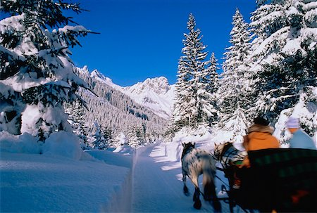 Sleigh Ride Austria Stock Photo - Rights-Managed, Code: 700-00018168