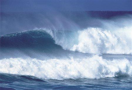 Ocean Waves Oahu, Hawaii, USA Stock Photo - Rights-Managed, Code: 700-00019934