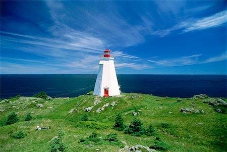 Lighthouse, Grand Manan Island New Brunswick, Canada Stock Photo - Rights-Managed, Code: 700-00010937