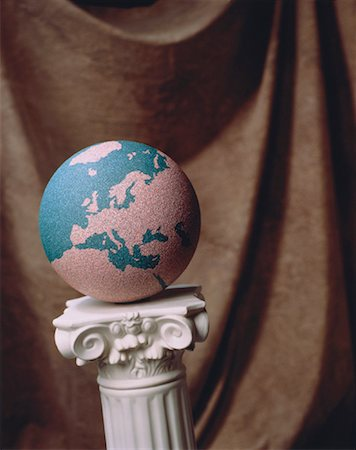 Globe on Pedestal Europe Stock Photo - Rights-Managed, Code: 700-00012579