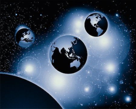 Three Globes Pacific Rim, North and South America, Europe and Africa Stock Photo - Rights-Managed, Code: 700-00013297