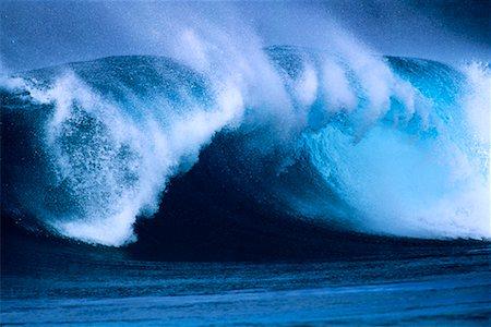 Waves North Shore, Hawaii, USA Stock Photo - Rights-Managed, Code: 700-00024909