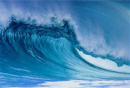 Waves North Shore, Hawaii, USA Stock Photo - Rights-Managed, Code: 700-00024917