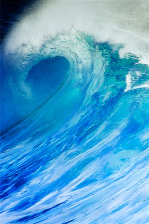 Wave North Shore, Hawaii, USA Stock Photo - Rights-Managed, Code: 700-00024911