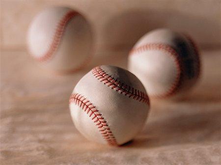 Antique Baseballs Stock Photo - Rights-Managed, Code: 700-00027673