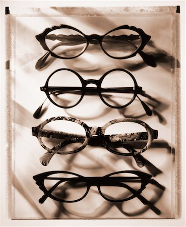Row of Eyeglasses Stock Photo - Rights-Managed, Code: 700-00029229