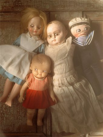 Dolls Stock Photo - Rights-Managed, Code: 700-00029262