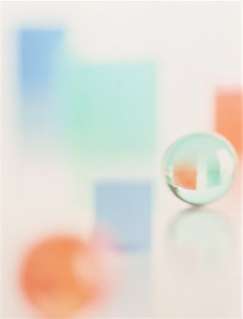 Blurred View of Geometric Shapes Stock Photo - Rights-Managed, Code: 700-00029594