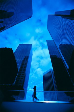 peter griffith - Businessman and Office Towers Stock Photo - Rights-Managed, Code: 700-00029775