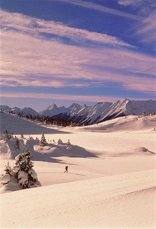 Ski Touring Banff, Alberta, Canada Stock Photo - Rights-Managed, Code: 700-00022853